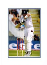 Ian Bell Autograph Signed Photo - England